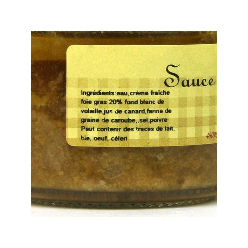 Sauce au Foie Gras 20% - 100 gr