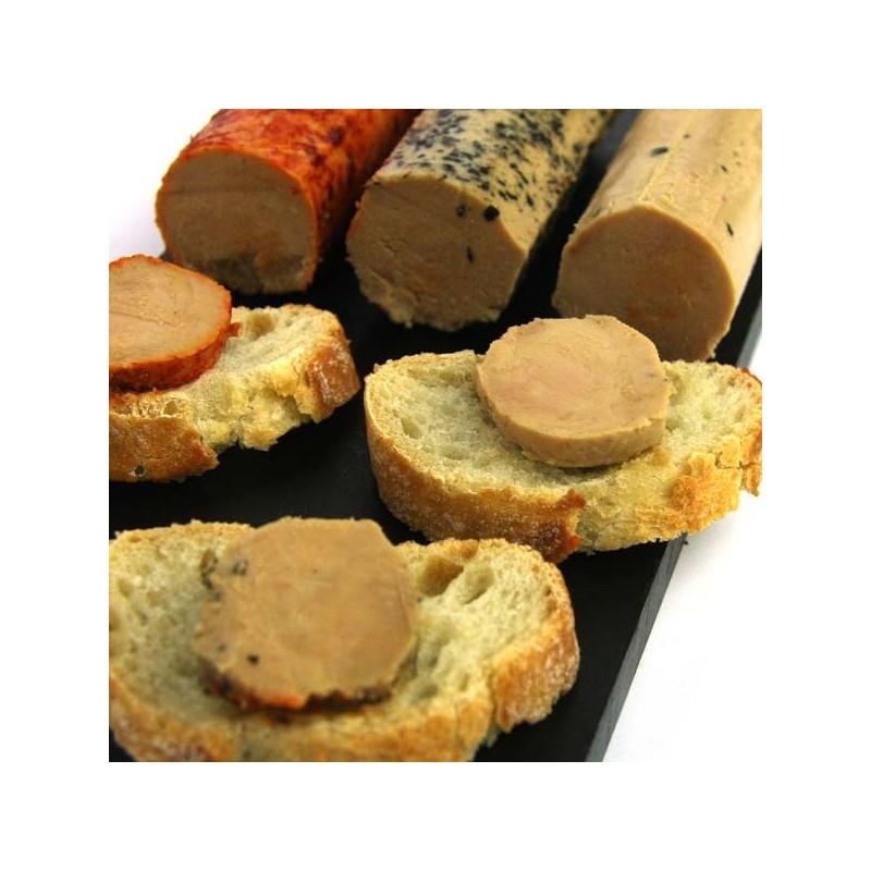 Tranches foie gras de canard au sel Mémé du Quercy