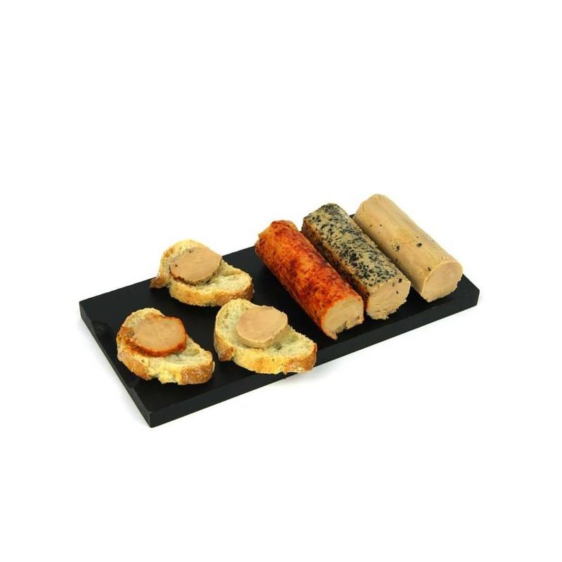 Présentation foie gras de canard au sel Mémé du Quercy