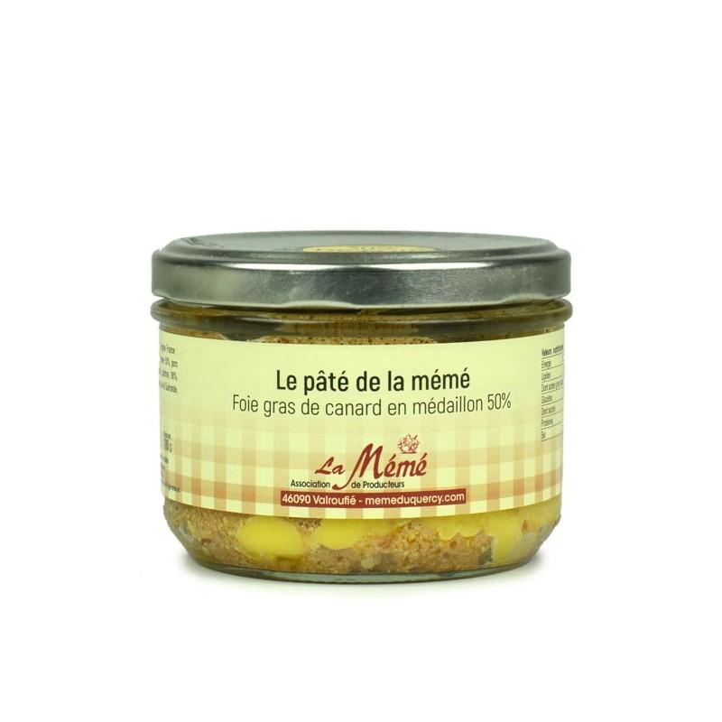 Pâté de la mémé 50% foie gras du sud ouest