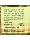Pâté du Dimanche 20% foie gras - 180 gr
