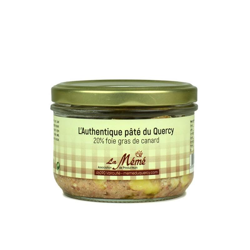 L'authentique pâté du Quercy 20% foie gras Mémé du Quercy