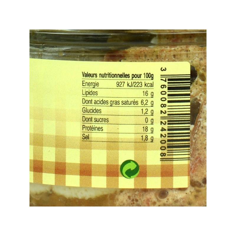 Pâté au Rocamadour - 180 gr
