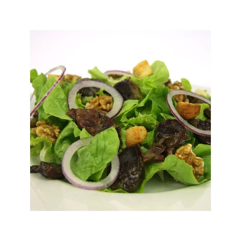 salade de gésiers de canard confits émincés
