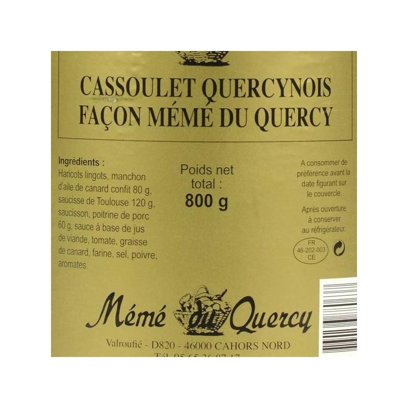 Cassoulet Quercynois façon Mémé du Quercy - 800 gr