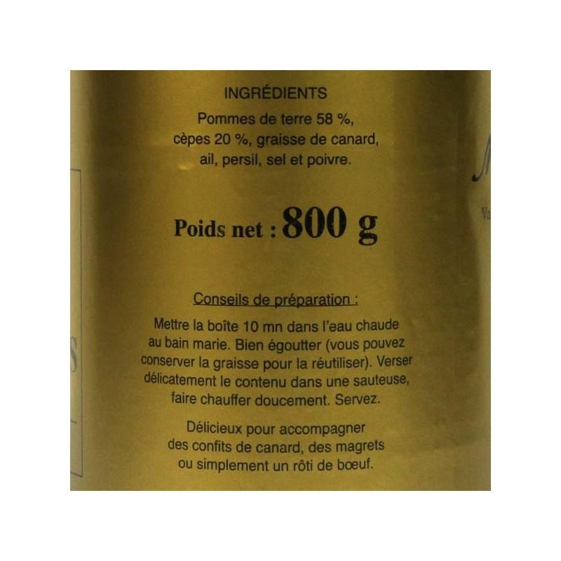 Pommes de terre Sarladaises - 800 gr
