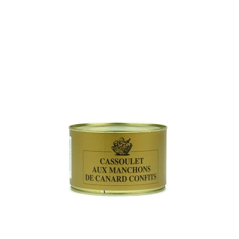 Cassoulet aux manchons de canard confits - 420 gr