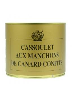 Cassoulet aux manchons de canard confits - 2200 gr