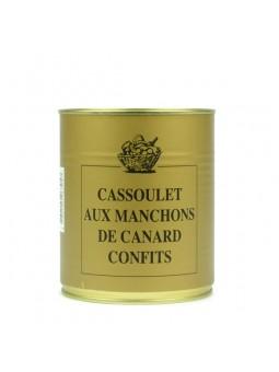 Cassoulet aux manchons de canard confits - 840 gr