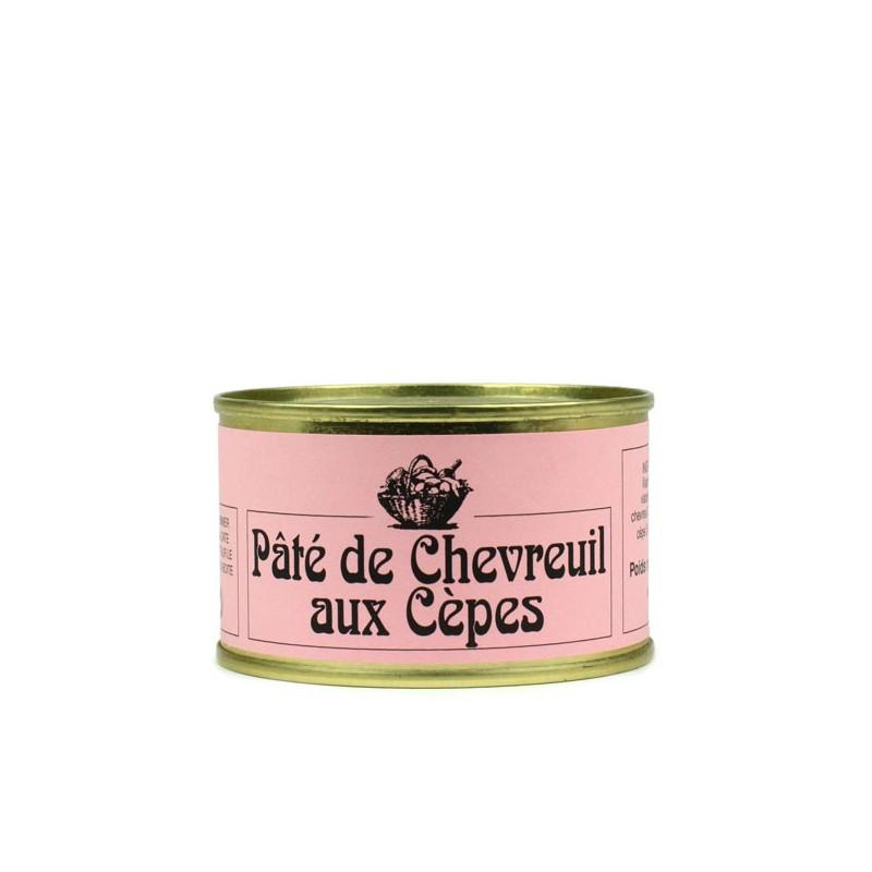 Pâté de chevreuil aux cèpes - 130 gr