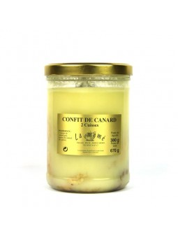 Confit de Canard - 2 cuisses - bocal 670 gr