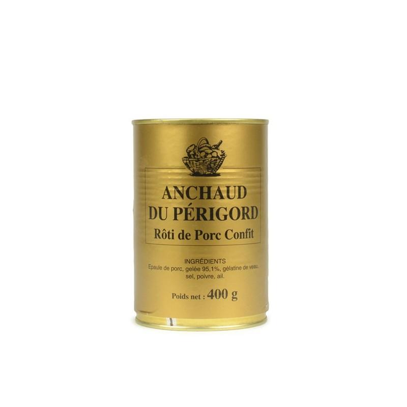 Anchaud du Périgord - Rôti de porc confit - 400 gr
