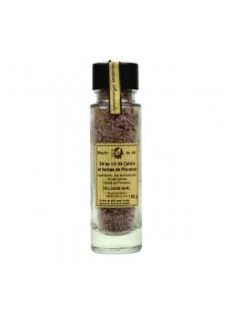 Sel au vin de Cahors et herbes de Provence - 100 gr