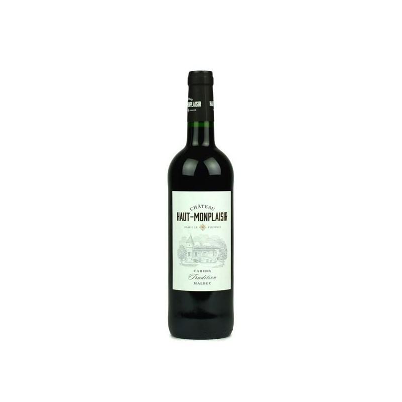 Château Haut Monplaisir tradition 2016 vin de Cahors Bio