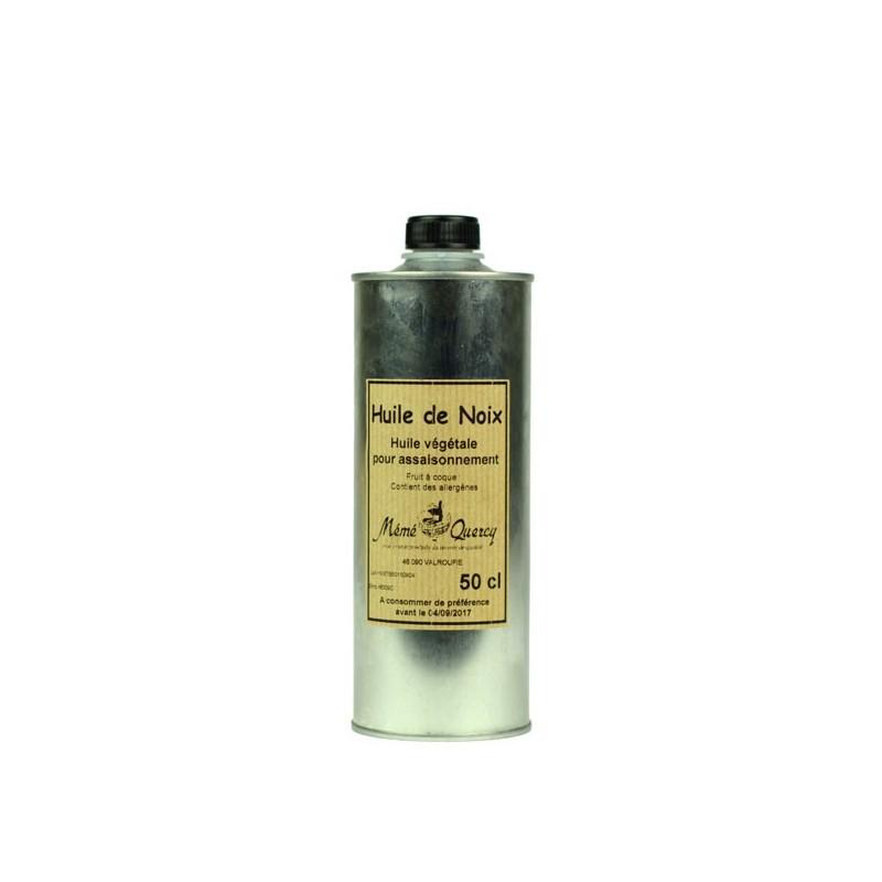 Huile de noix - Bidon 50 cl