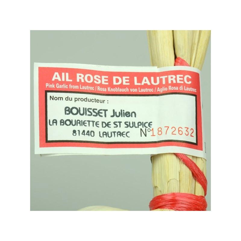 Grappe d'Aïl Rose de Lautrec - 500 g
