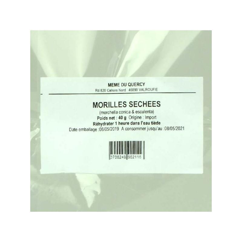Morilles séchées - 40 gr