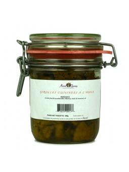 Girolles cuisinées à l'huile Mémé du Quercy