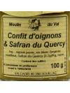 Confit d'oignons & safran du Quercy - 100 gr
