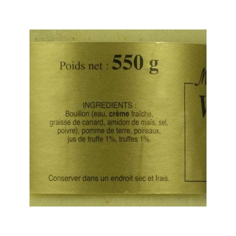 Velouté aux truffes - 550 gr