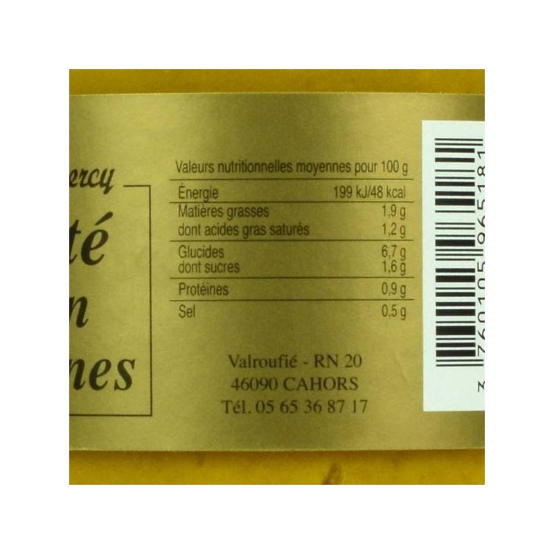 Velouté Potiron Châtaignes - 550 gr