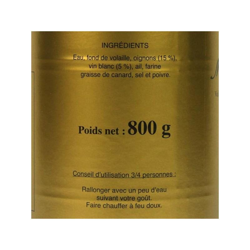 Soupe à l'Oignon - 800 gr