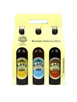 3 Bières RATZ - 75 cl