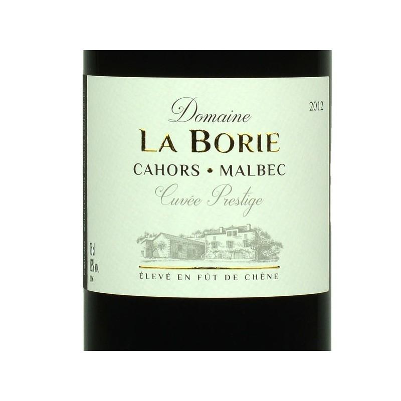 Domaine La Borie - cuvée prestige 2012