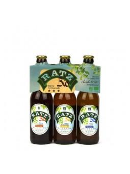 3 Bières RATZ Bio - 33 cl