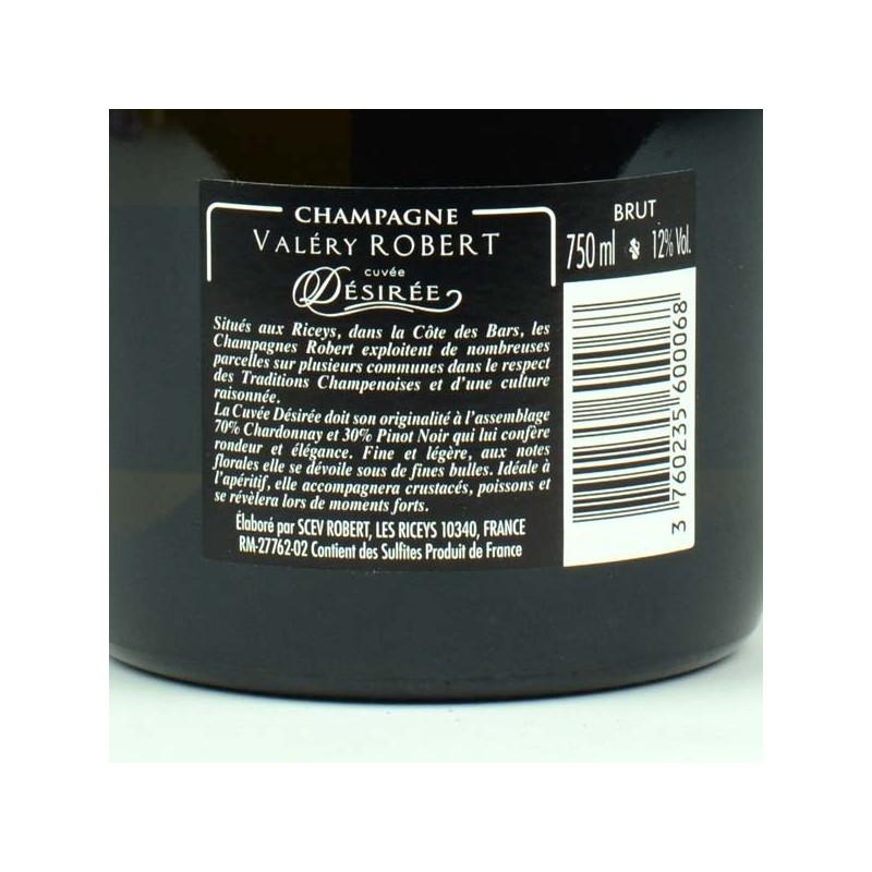 Champagne Robert - Cuvée Désirée brut