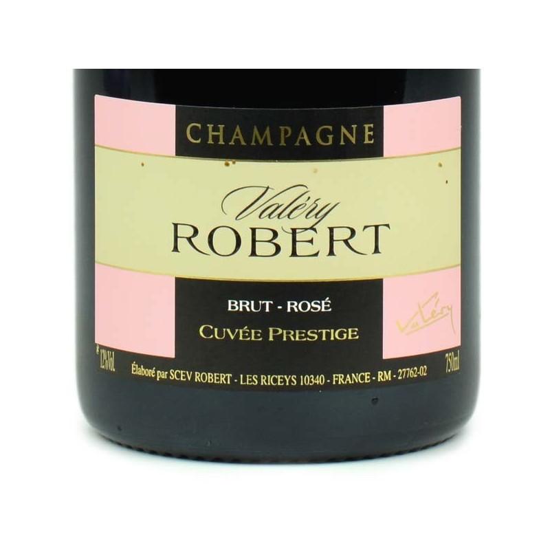 Champagne Robert - Cuvée Prestige brut rosé