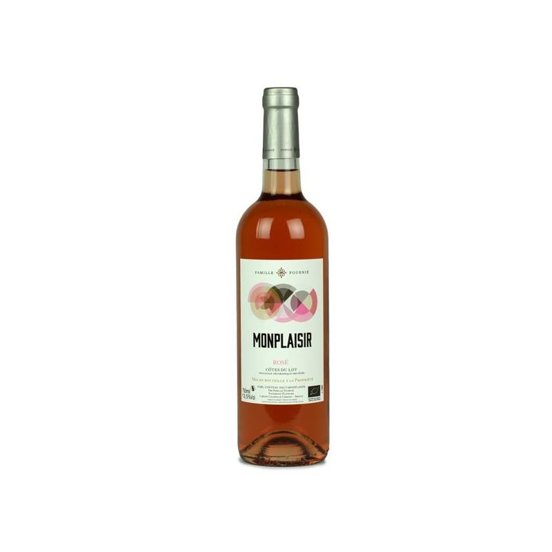 Château Haut Monplaisir vin rosé bio