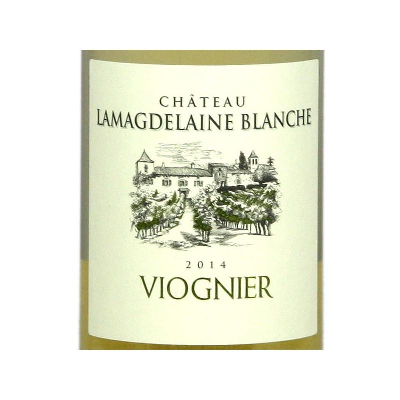 Lamagdelaine blanche - Viognier