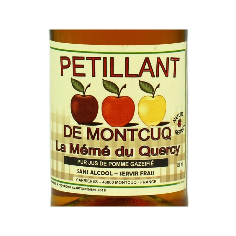 Pétillant pomme de Montcuq - 75 cl