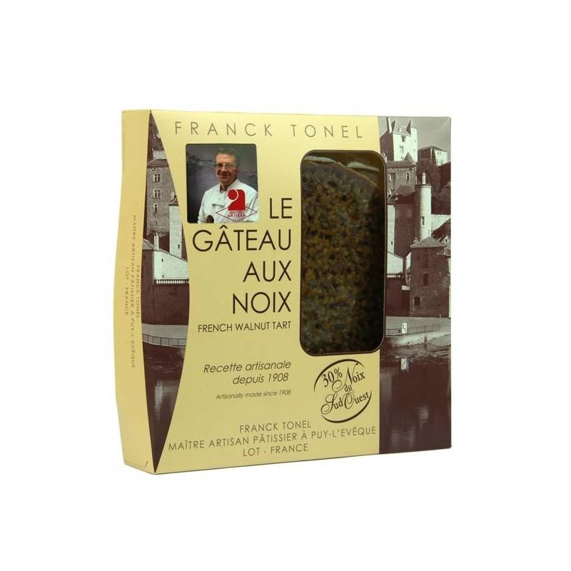 Tarte aux noix Franck Tonel - 400 gr