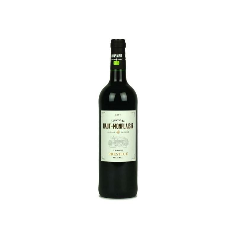 Château Haut-Monplaisir - Prestige 2015 vin de Cahors biologique